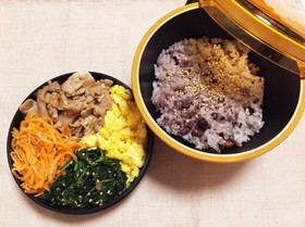 【お弁当】簡単!ビビンバ丼★