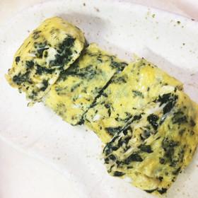 調味料いらずの海苔ふりかけの卵焼き