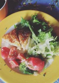 カマンベールチーズとポテトのパイ