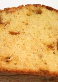 金柑の甘露煮で!金柑とバニラのケーキ