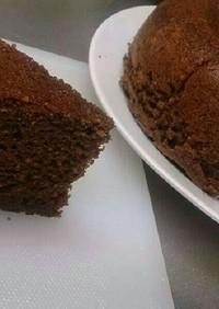 HMを使った簡単チョコケーキ