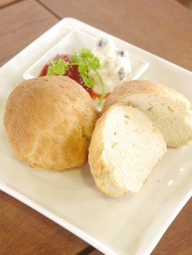 発酵不要!30分でお豆腐パン