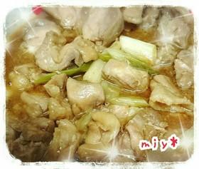 レンジ DE 鶏の照り焼き