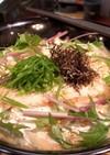 桜海老の薯蕷蒸しにゅうめん