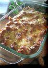 茄子とフレッシュトマトのミートグラタン