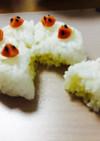 誕生日♡いちごのケーキおにぎり♡キャラ弁