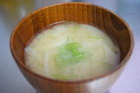 簡単☆香り高いカルシウムたっぷり味噌汁