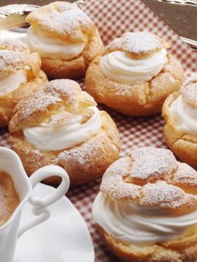 牛乳de簡単シュークリーム♥
