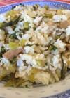 高菜と豚バラのチャーハン