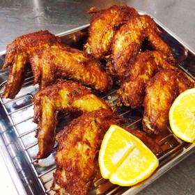 鶏手羽先のカリカリ揚げ・隠し味はカレー粉