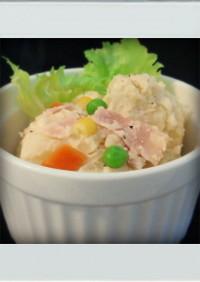 ■簡単副菜■ホットなポテトサラダ☆お弁当