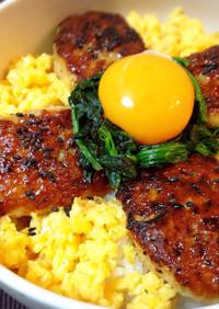 お弁当♬簡単♪甘辛タレの鶏つくね照り焼き