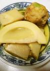 筍とひろうすの煮物
