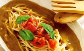 簡単うまうま冷製イタリアンカレースパ