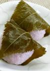 レンジで簡単!手作りこし餡で関西風な桜餅