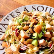 ダイエットに♪スモークチキンと豆のサラダの写真