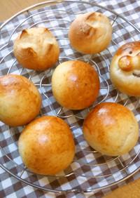 【覚書】冷蔵発酵パン(菓子パン用)