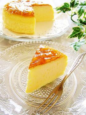 ふわしゅわっ♪幸せスフレチーズケーキ♡