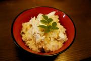 旬!ふっくら美味しい真鯛の炊き込み御飯の写真