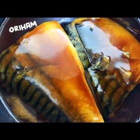 鯖の味噌煮♡
