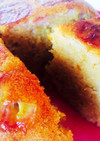 HM簡単!炊飯器でルバーブ&バナナケーキ
