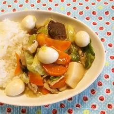 簡単、八宝菜(あっさり味版)