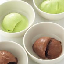 チョコレートアイス&ピスタチオアイス