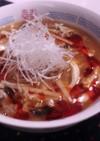 酸辣湯麺(サンラータンメン)♪