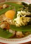 ベビー帆立とアオサの栄養オイル入袋麺