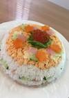 お祝い押し寿司