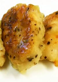 お弁当に!鶏むね肉の塩コショウ衣焼き