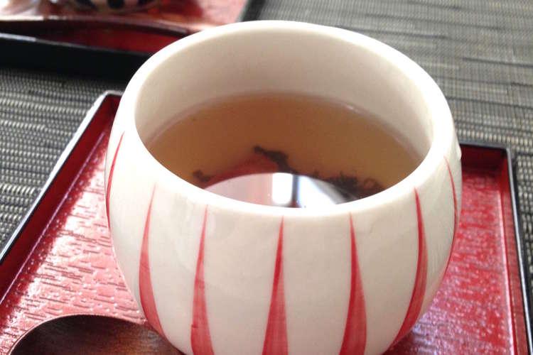 効果 梅醤 番茶