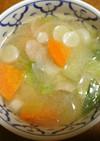 塩麹 de 具たくさんスープ