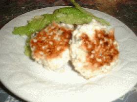 生姜みそレシピ②お豆腐と鶏のつくね風