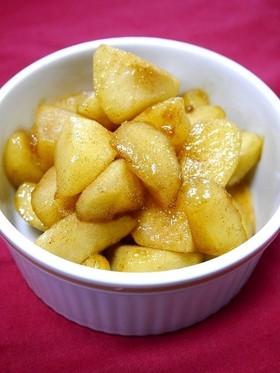 簡単!アップルシナモン(焼きりんご)