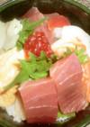♪酢飯作ってのせるだけ!簡単海鮮丼