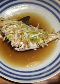 釣り魚で!清蒸(チンジョン)