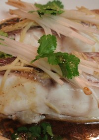 香港人の至福のひと時 レンジで皇醤蒸し魚
