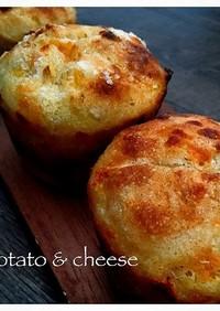 自家製酵母*じゃが芋チーズパン*