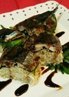 薬味たっぷりサンマ(秋刀魚)おにぎり寿司