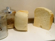 ふわふわ♡もちもち☺︎幸せの白い食パンの写真