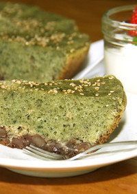 【春の味】炊飯器で作る よもぎケーキ
