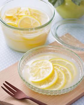 レモンの「カルピス」漬け