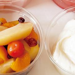 フルーツマリネ&クリームチーズディップ