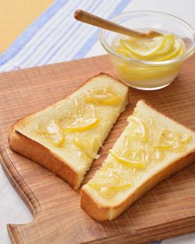 「カルピス」のレモンハニートースト