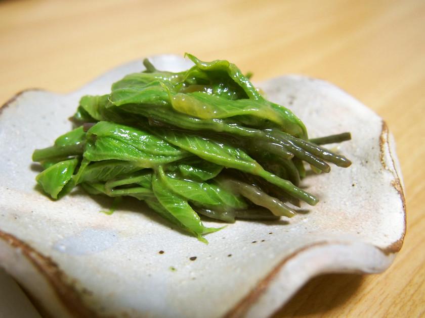 山菜・コシアブラの酢味噌和え