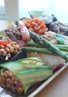 野菜たっぷり♪野菜の寿司