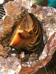 アーティチョークのオーブン蒸し焼きの写真