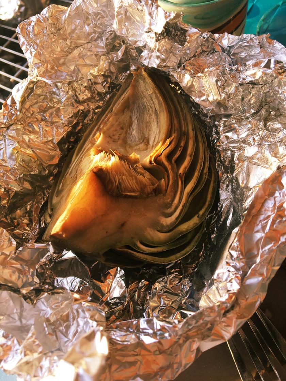 アーティチョークのオーブン蒸し焼き