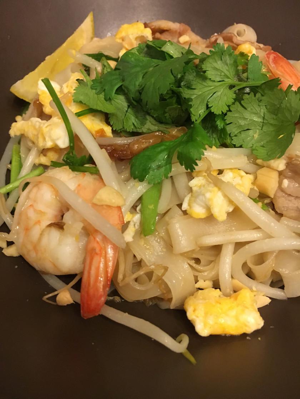 本格簡単タイ料理パッタイ♫タイの焼きそば